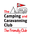 camping and caravanning logo